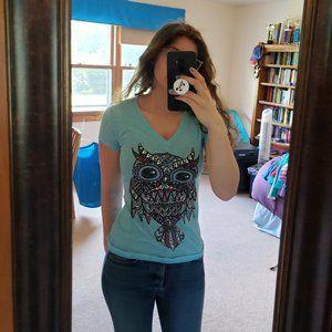 Hybrid Apparel Owl T-Shirt
